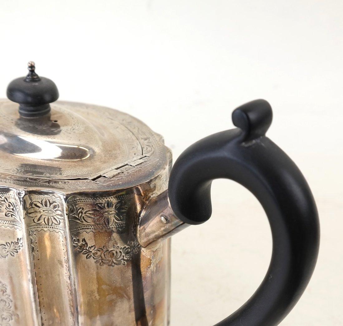 George III Sterling Teapot - 5