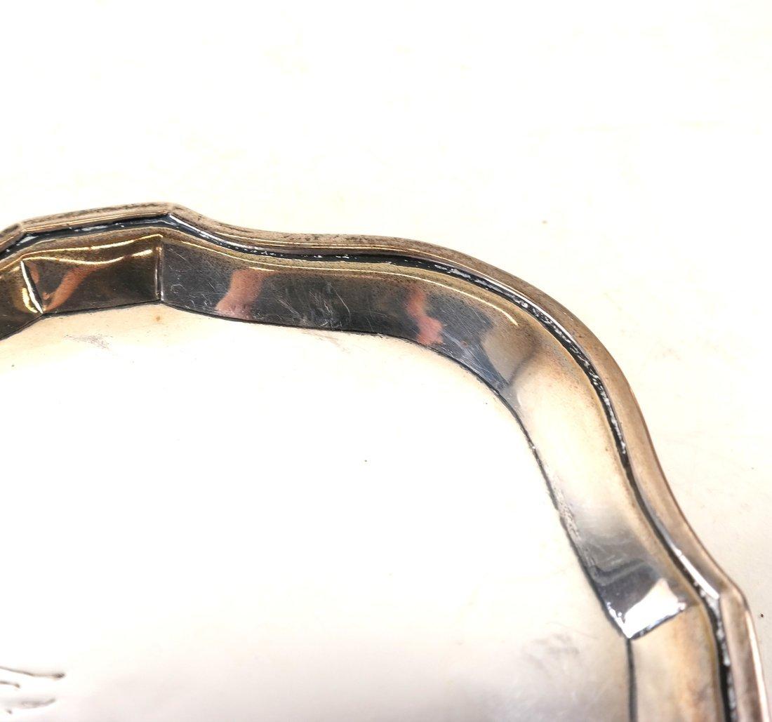George III Sterling Silver Salva - 3