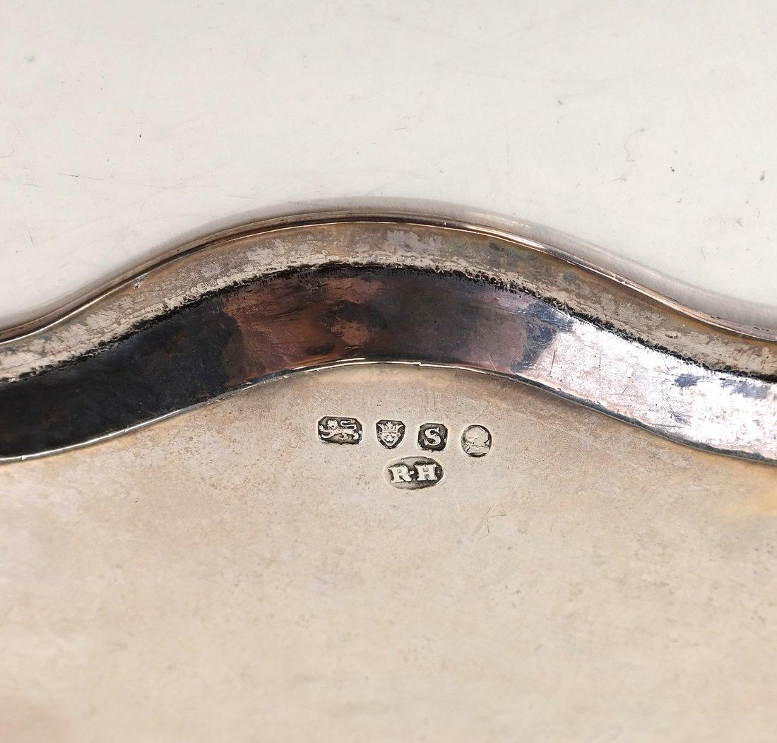 George III Sterling Silver Salva - 5