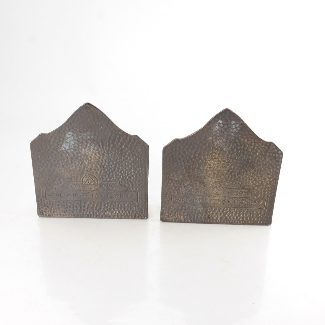 Two Painted Cast Iron Bookends - 3