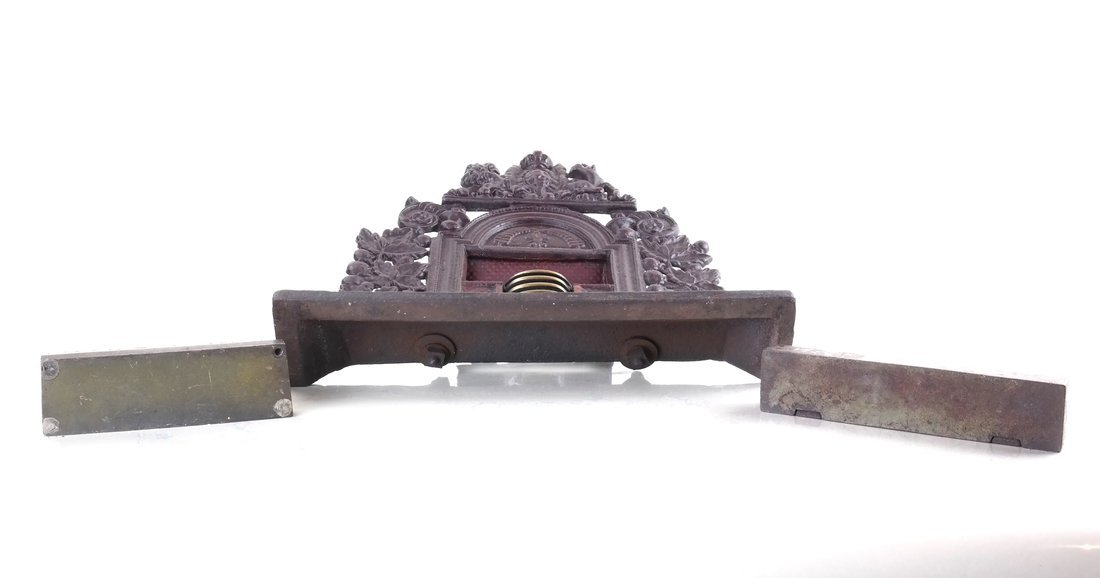 Three Cast Metal Architectural Bookends/ - 3