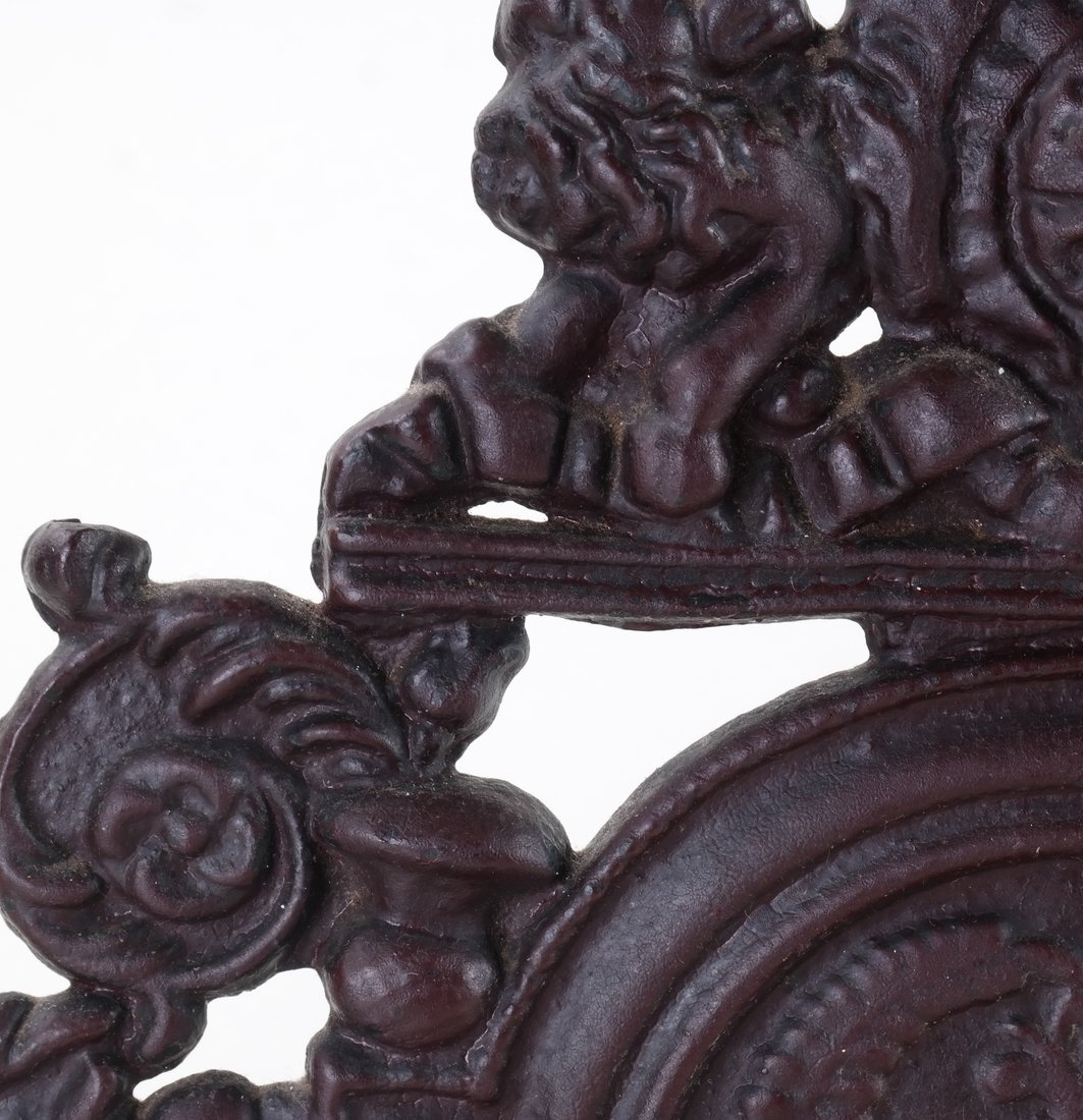 Three Cast Metal Architectural Bookends/ - 5
