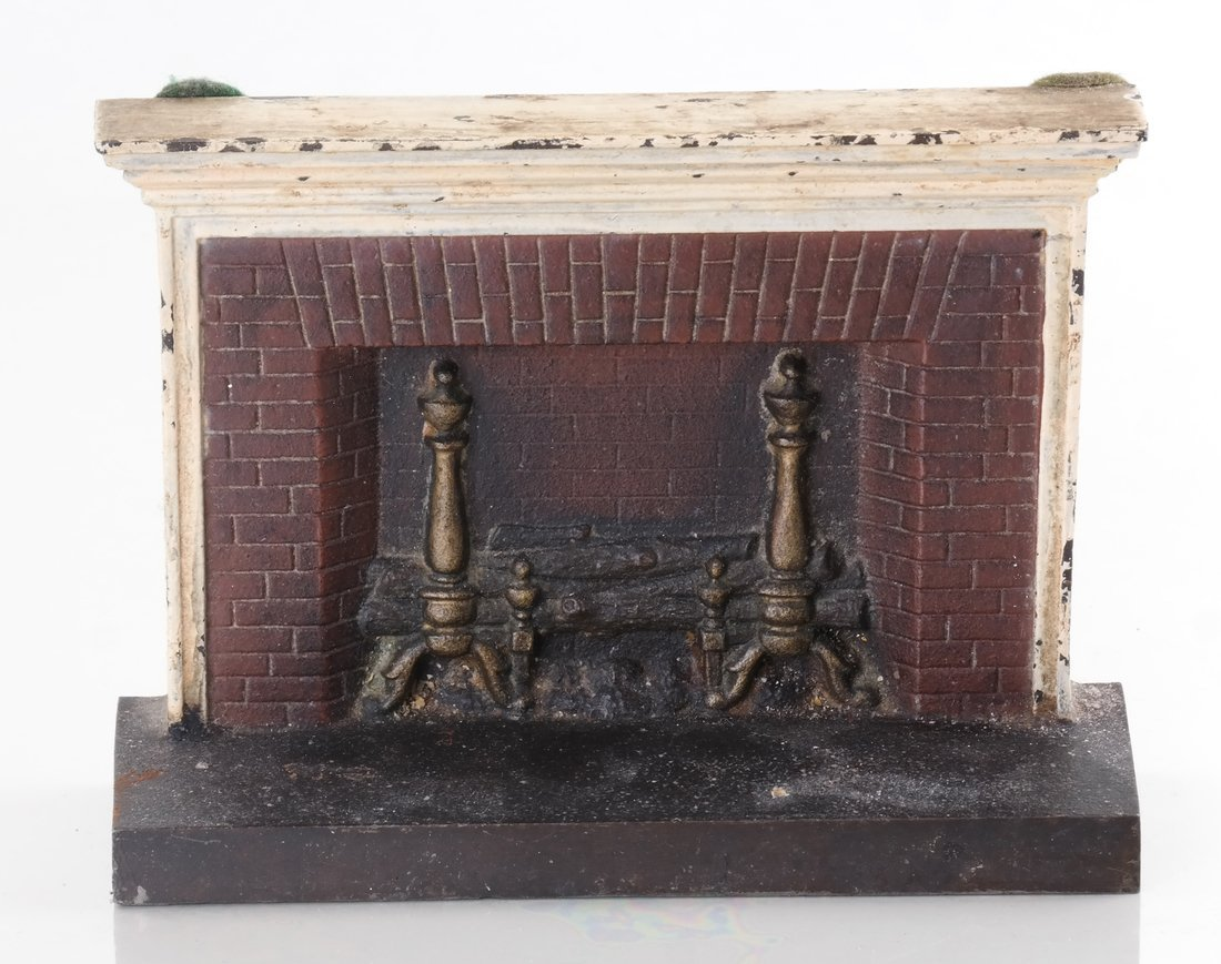 Three Cast Metal Architectural Bookends/ - 6