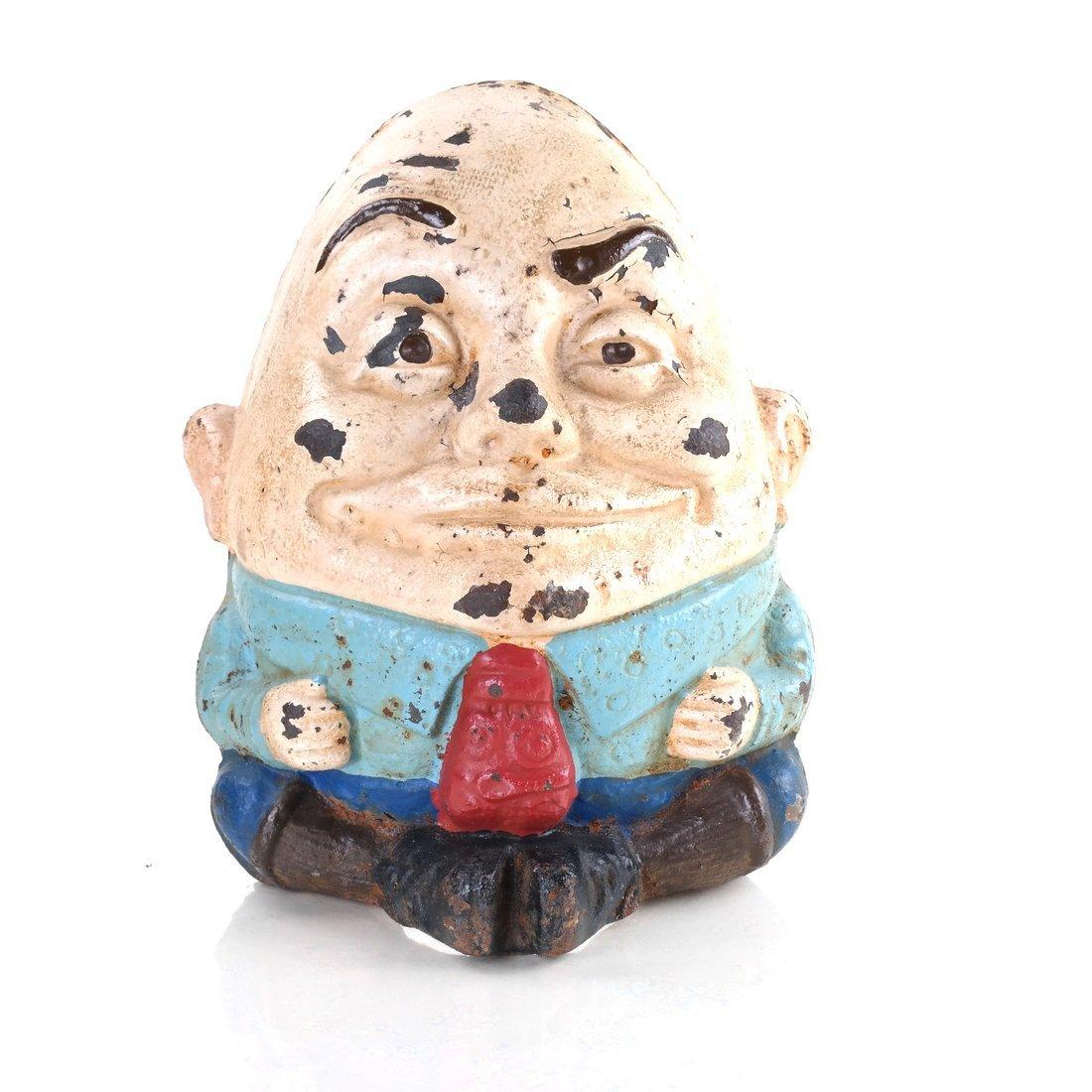 Cast Iron Humpty Dumpty Doorstop