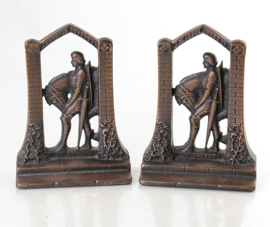 Four Cast Iron Doorstops/Bookends - 5