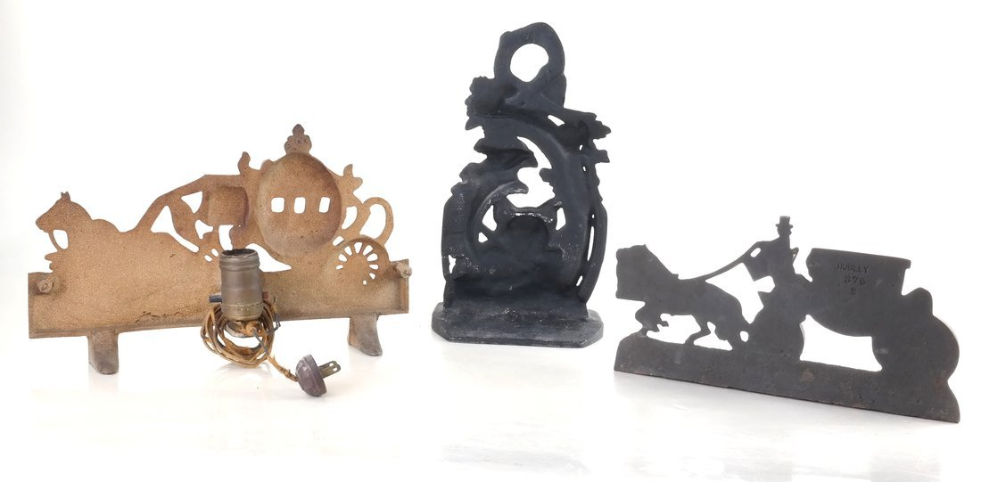 Three Cast Iron Doorstops - 2
