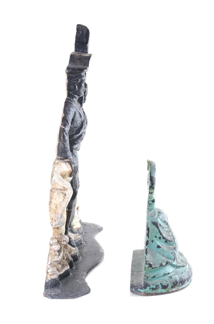Two Painted Cast Iron Doorstops - 4