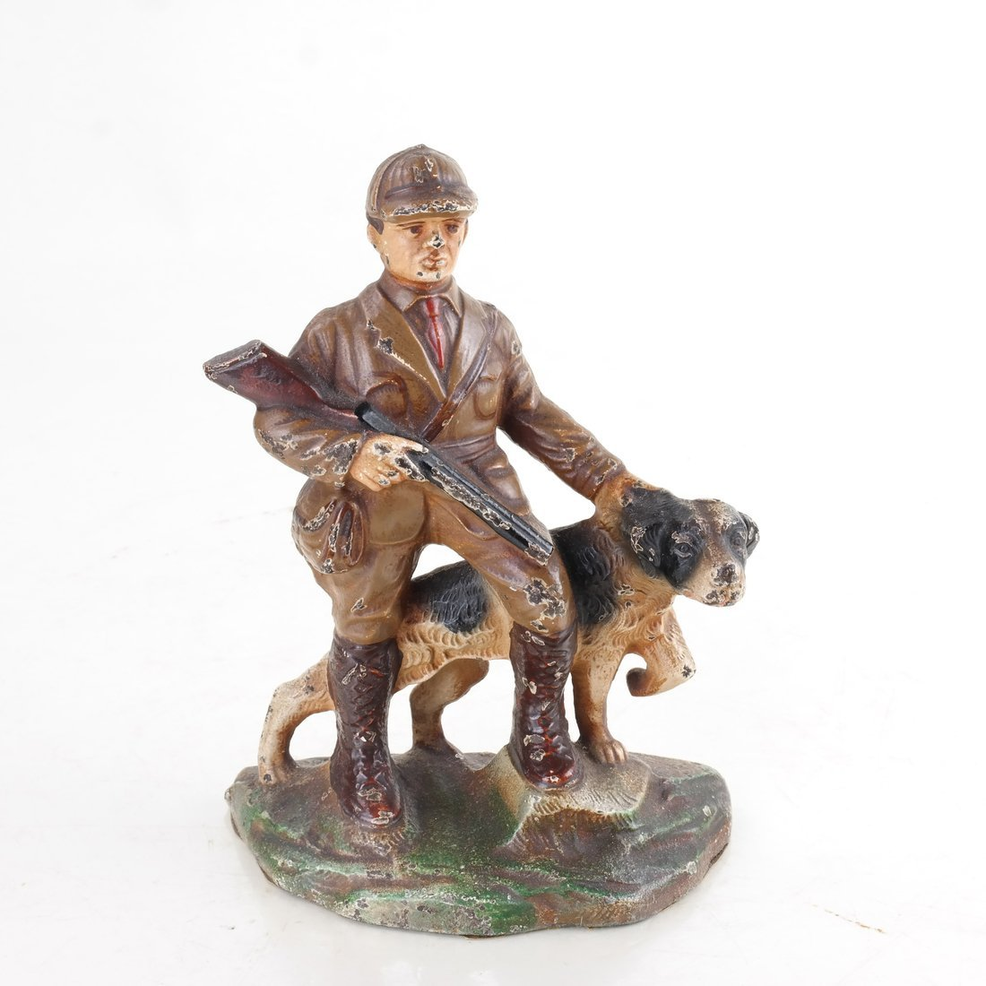 Four Cast Iron Figural Bookends - 6