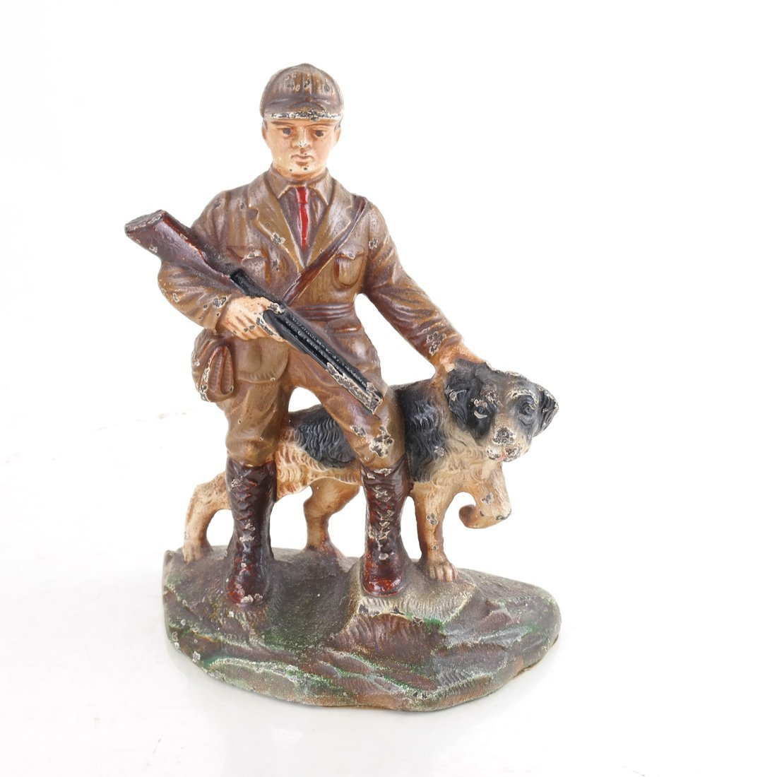Four Cast Iron Figural Bookends - 7