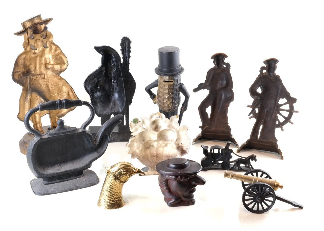 Eleven Various Cast Metal Figures - 2