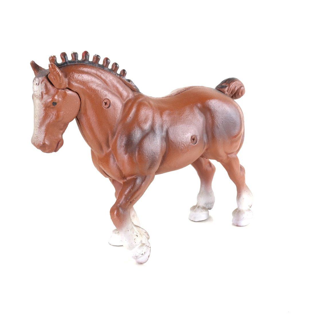 Three Cast Iron Horse Figures - 5