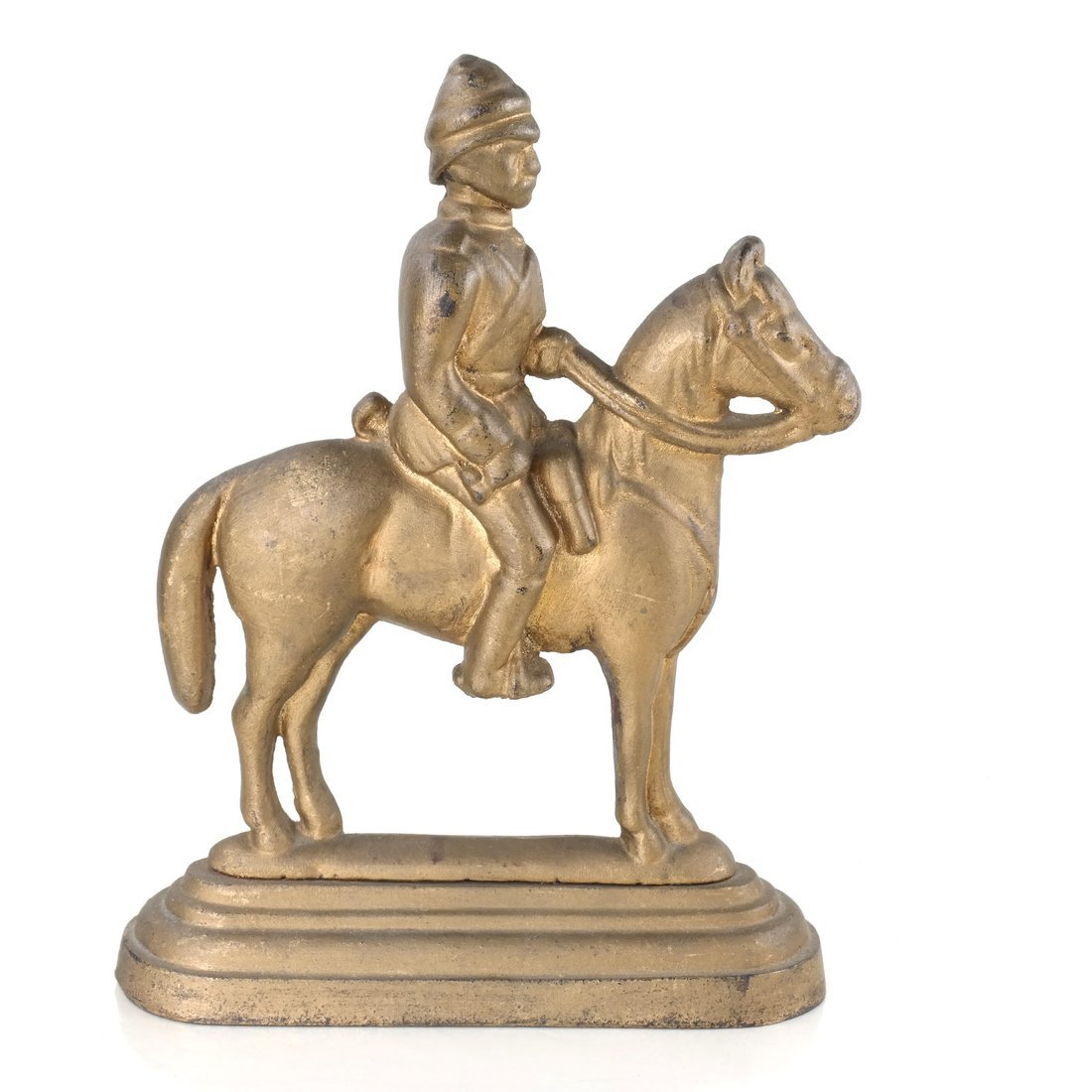 Three Cast Iron Horse Figures - 9