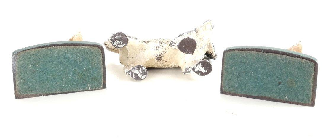 Three Cast Iron Cocker Spaniels - 5