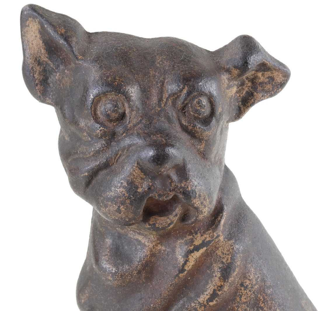 Two Cast Iron Dog Doorstops - 7
