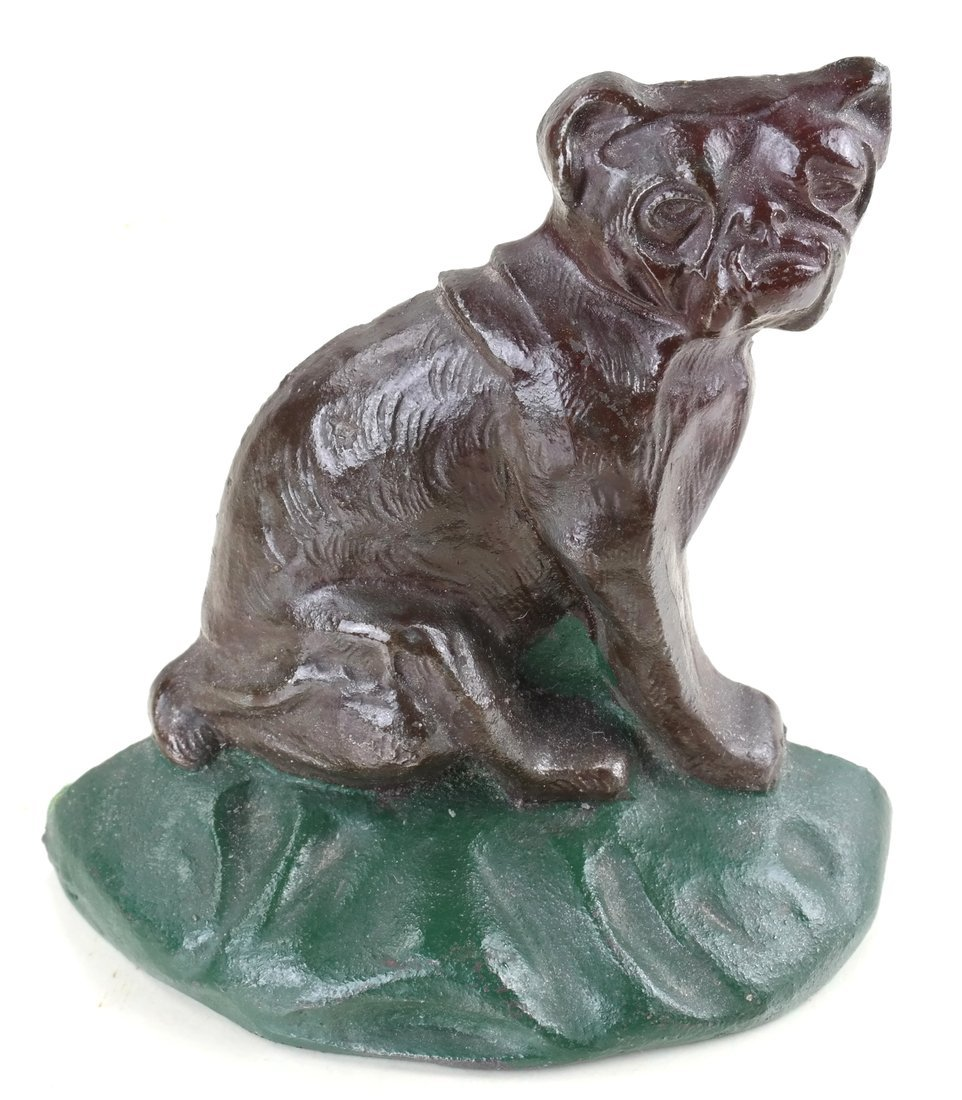 Two Cast Iron Dog Doorstops - 9