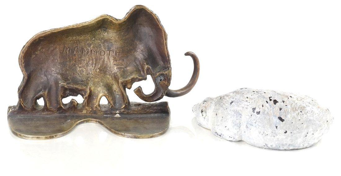 Two Cast Metal Animal Figures - 2