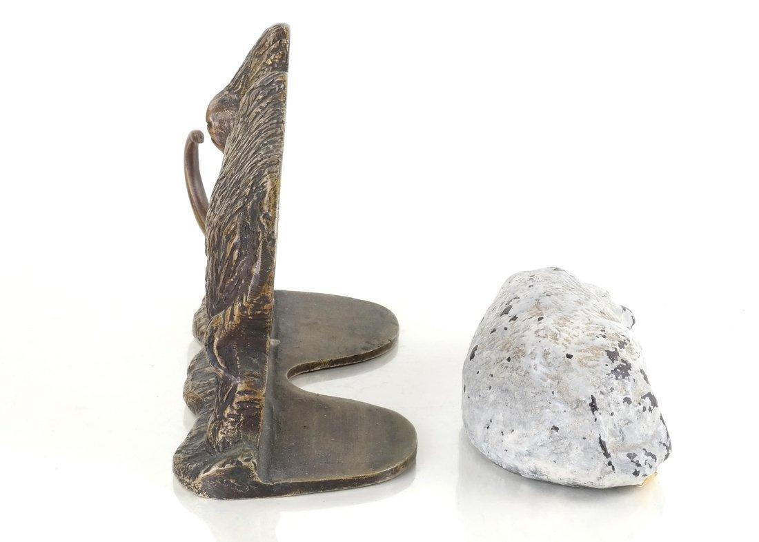 Two Cast Metal Animal Figures - 3