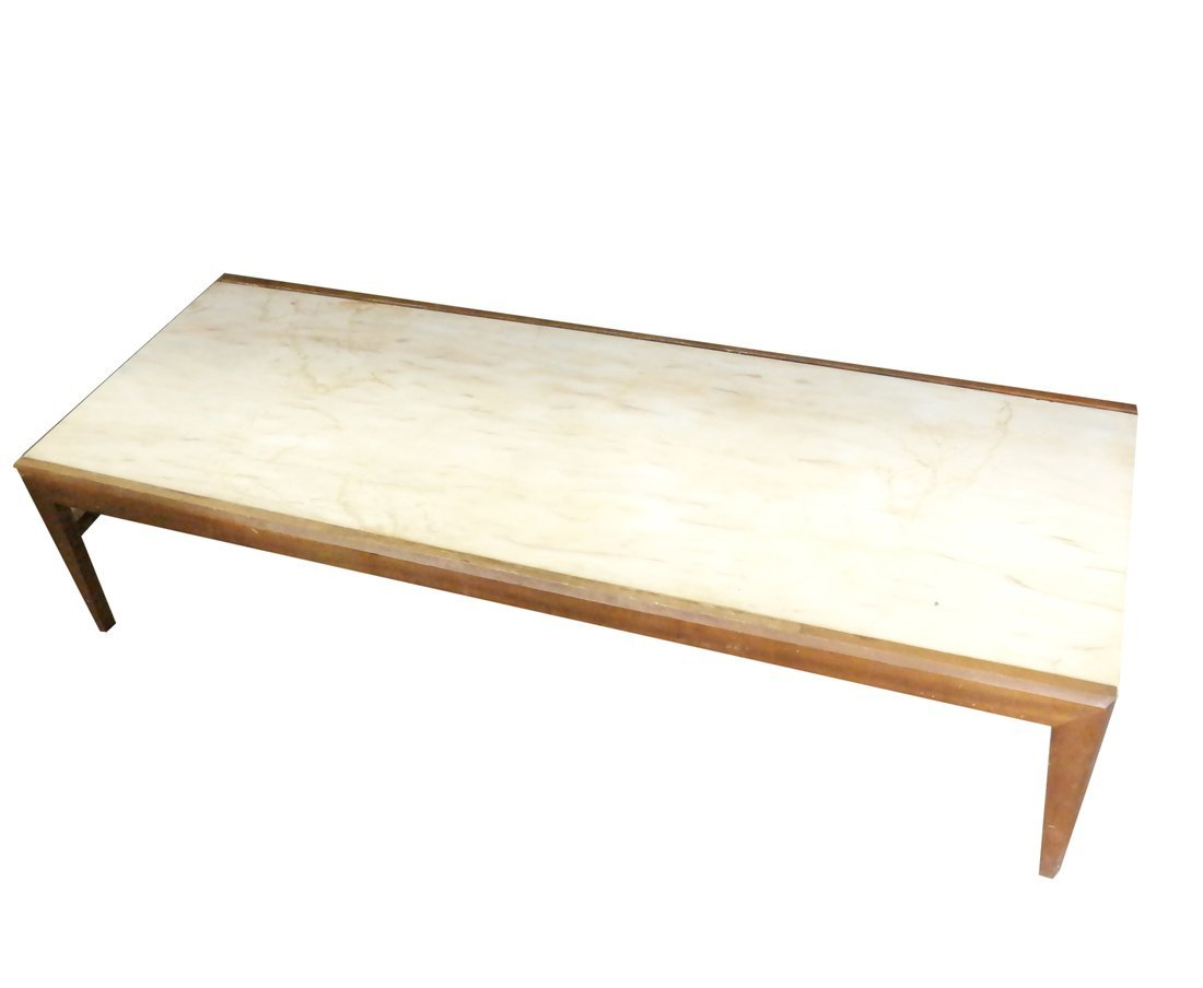 Modern Marble Inset Coffee Table