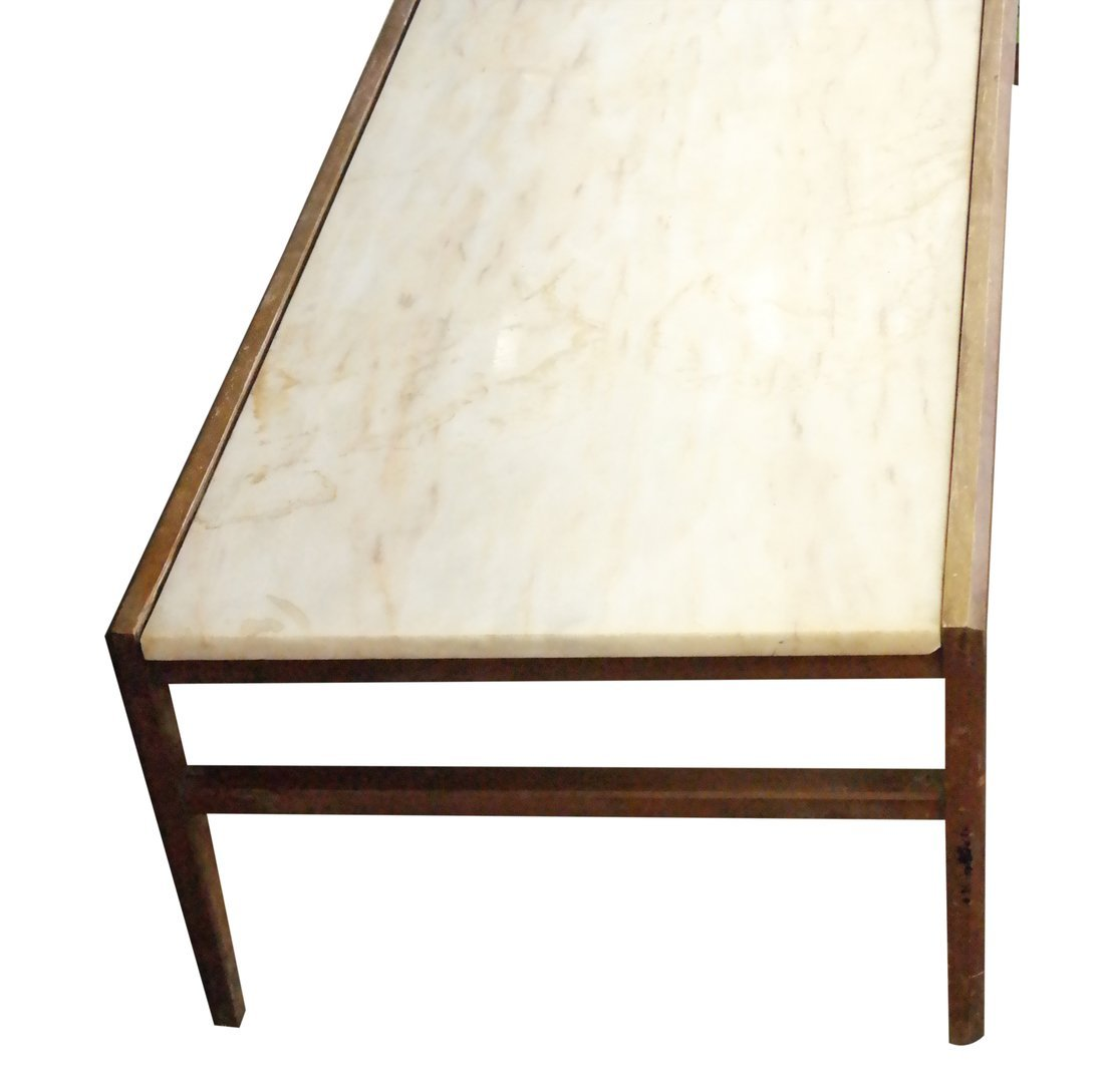 Modern Marble Inset Coffee Table - 3