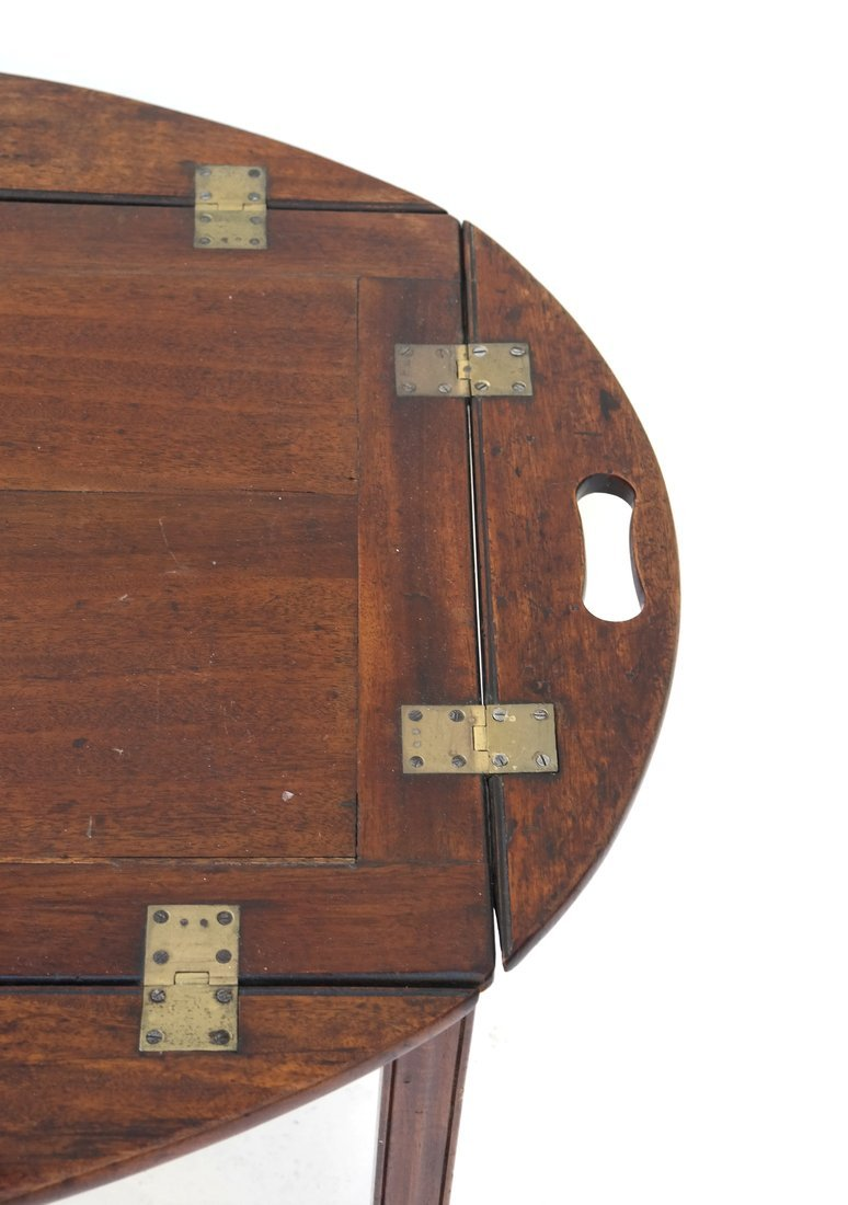 English-Style Mahogany Butler's Table - 3