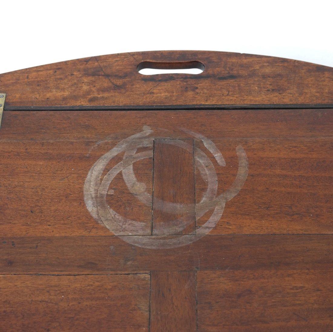 English-Style Mahogany Butler's Table - 4