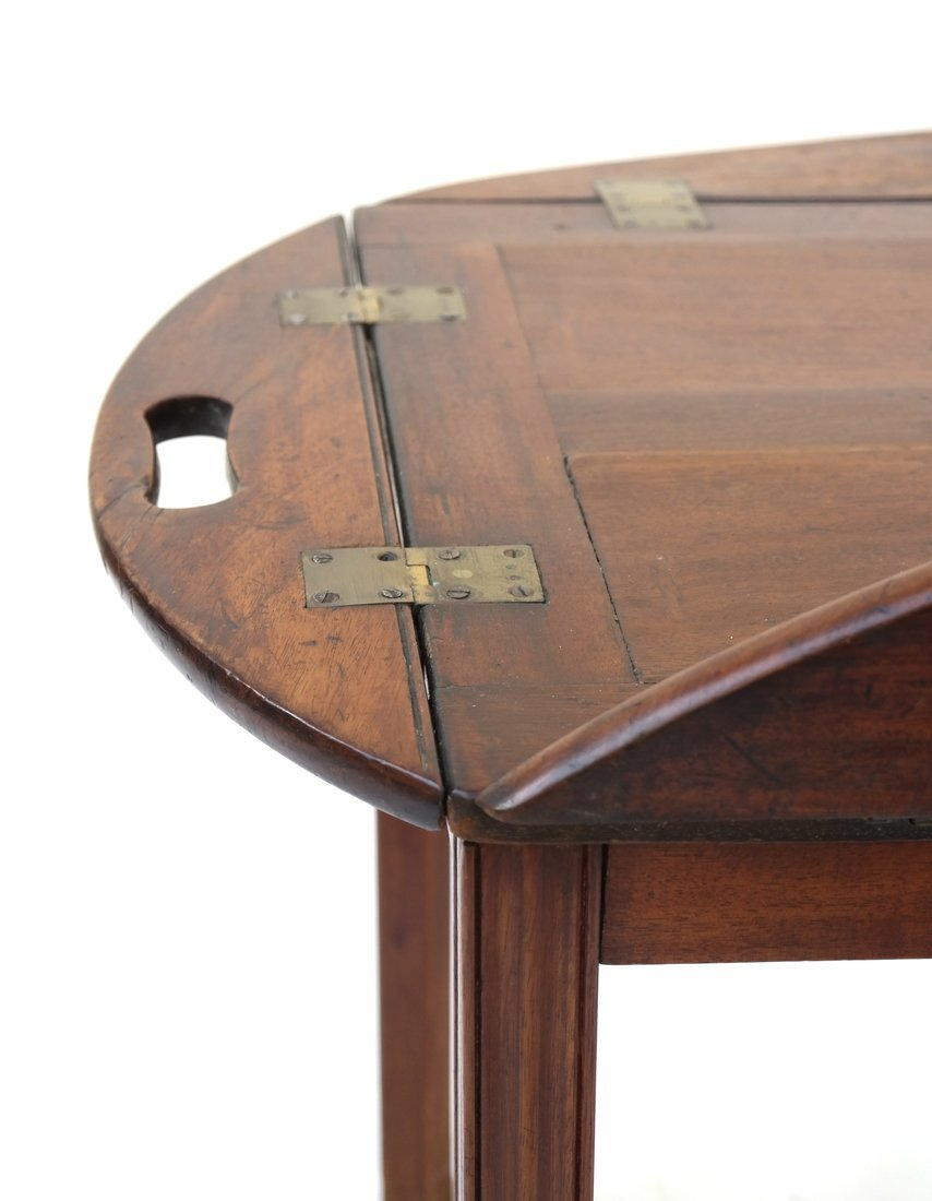 English-Style Mahogany Butler's Table - 5