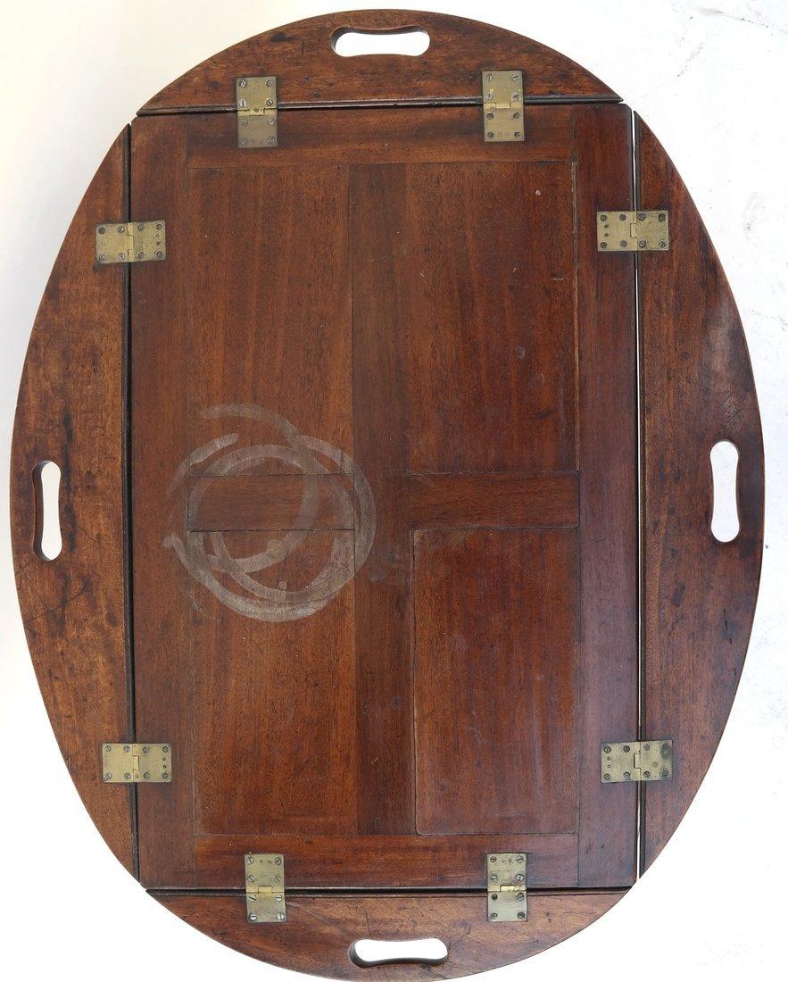 English-Style Mahogany Butler's Table - 6
