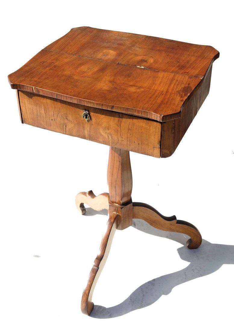 19th Century Tripod Work Table