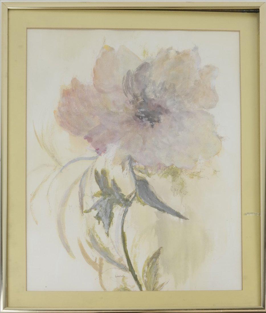 "Phyllis Lifschutz, ""Blossom"", Watercolor - 2"