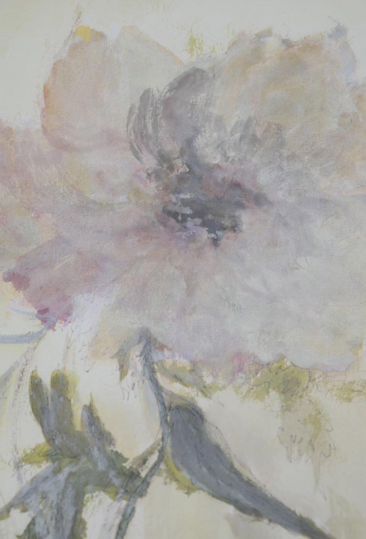 "Phyllis Lifschutz, ""Blossom"", Watercolor - 3"