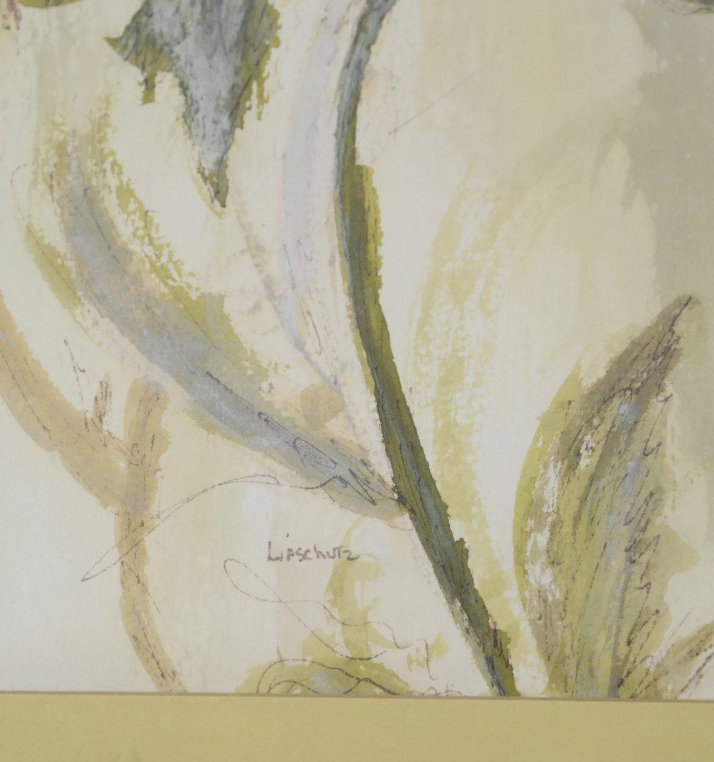 "Phyllis Lifschutz, ""Blossom"", Watercolor - 4"