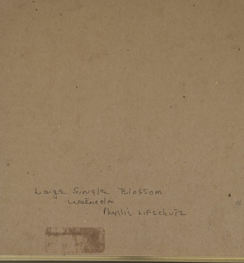 "Phyllis Lifschutz, ""Blossom"", Watercolor - 7"