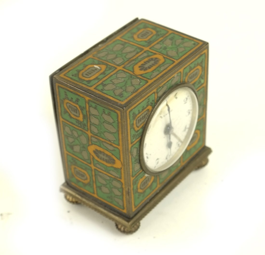 Four Miniature Clocks - 3