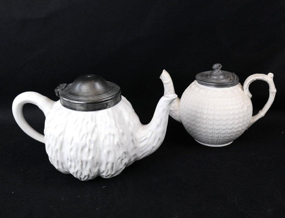 Two Ceramic Teapots