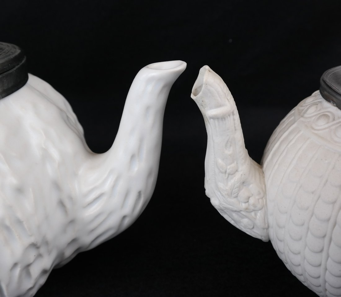 Two Ceramic Teapots - 2