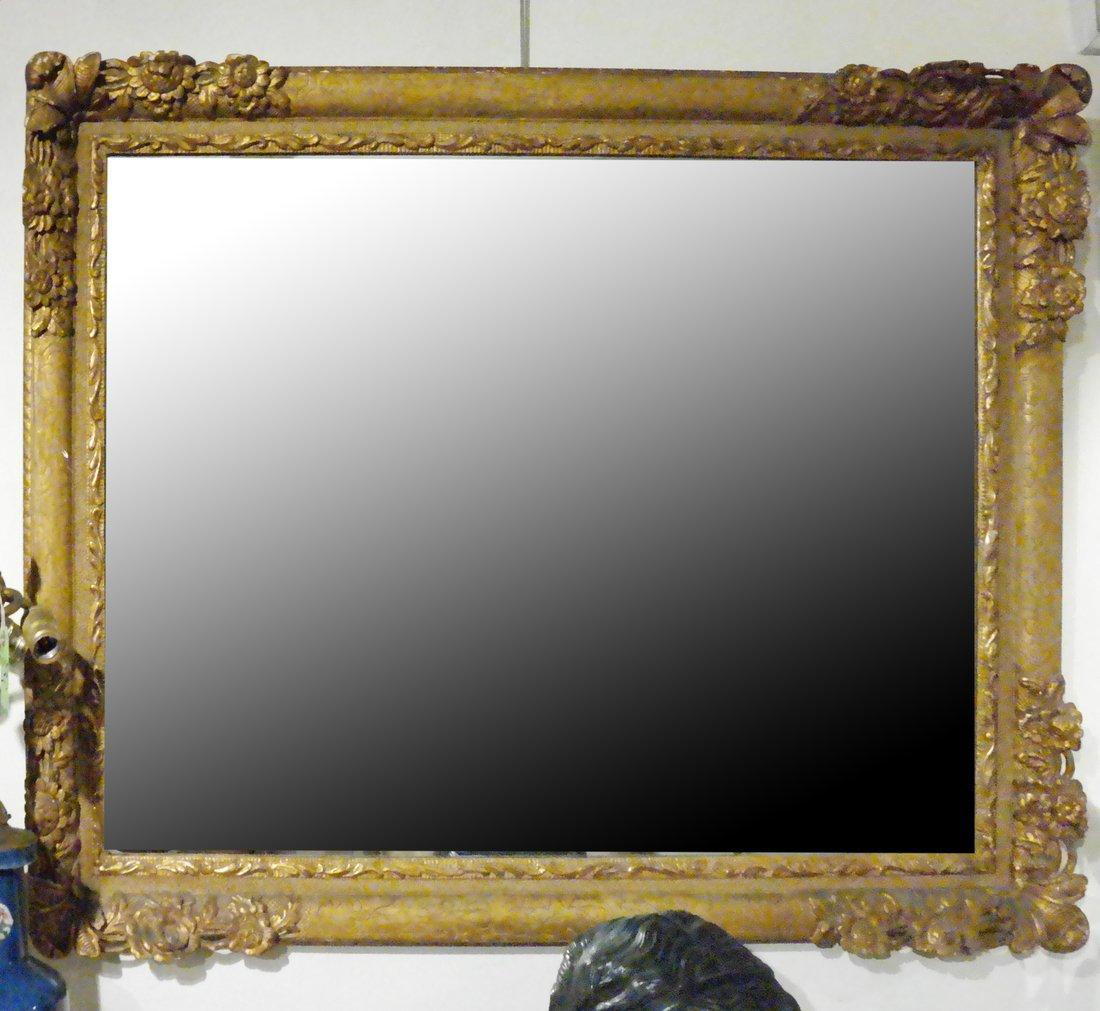 Composition Gilt Mirror