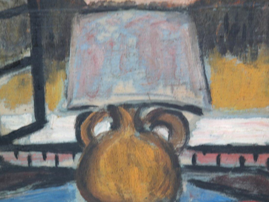 Table Still Life, Oil on Board - 3