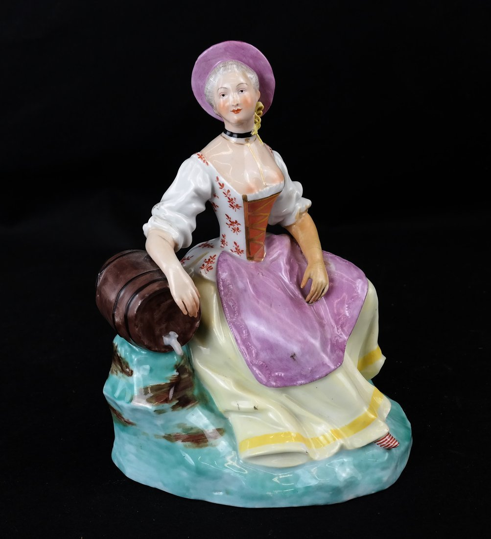 Royal Vienna Female Sculpture