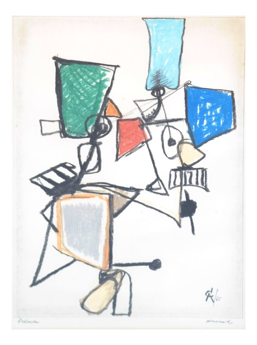 After A. Calder, Abstract Figure