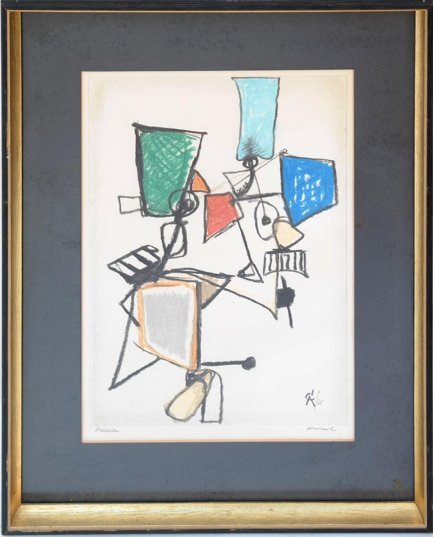 After A. Calder, Abstract Figure - 2