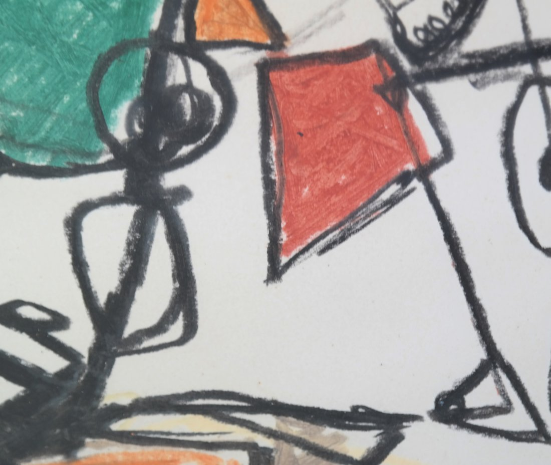 After A. Calder, Abstract Figure - 5