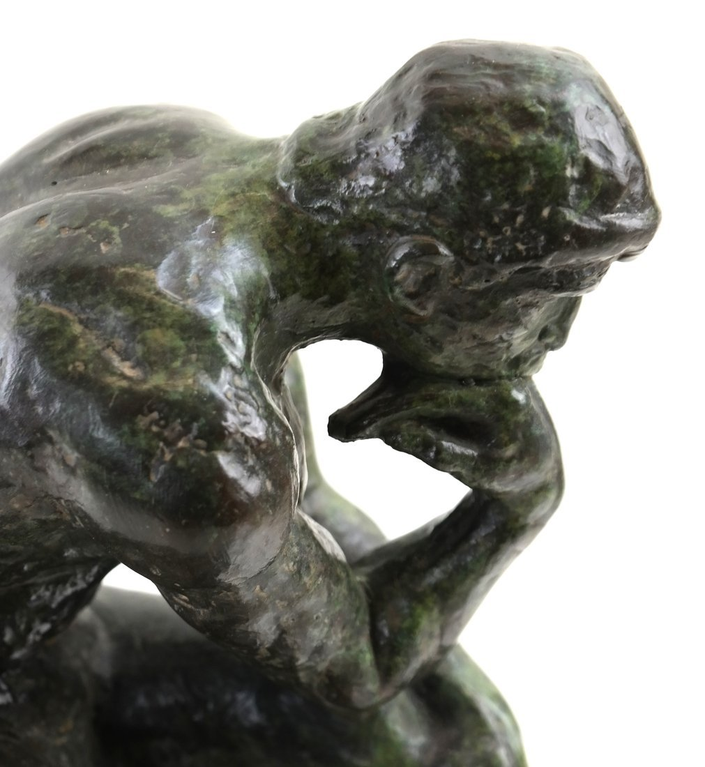 """After Rodin """"The Thinker"""" - 6"""