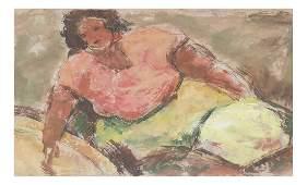 Cordich, Reclining Woman,
