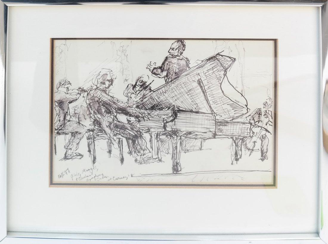 Musicians, Watercolor - 2
