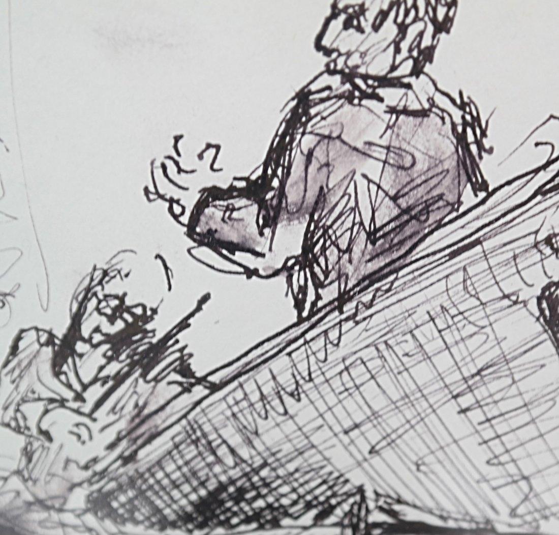 Musicians, Watercolor - 4