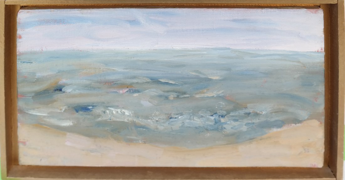 Coastal Scene, Oil On Canvas - 2