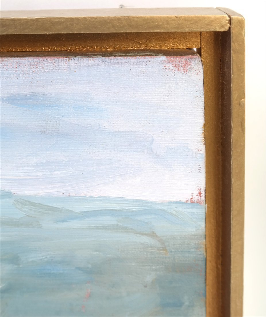 Coastal Scene, Oil On Canvas - 3