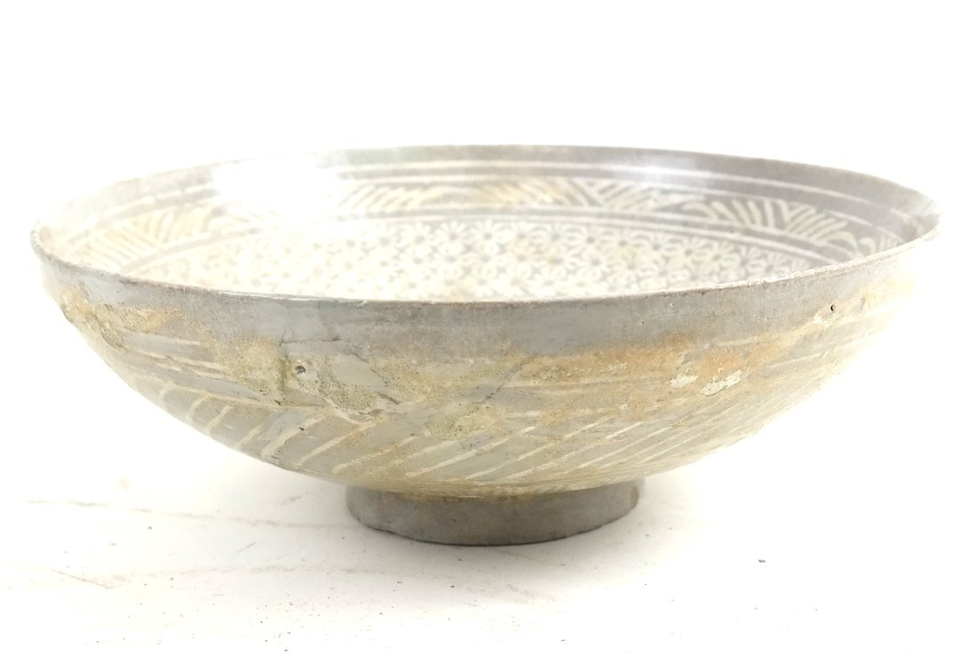 Early Chinese Pottery Bowl - 2