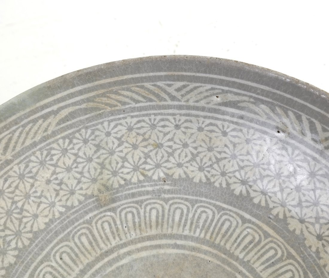 Early Chinese Pottery Bowl - 4