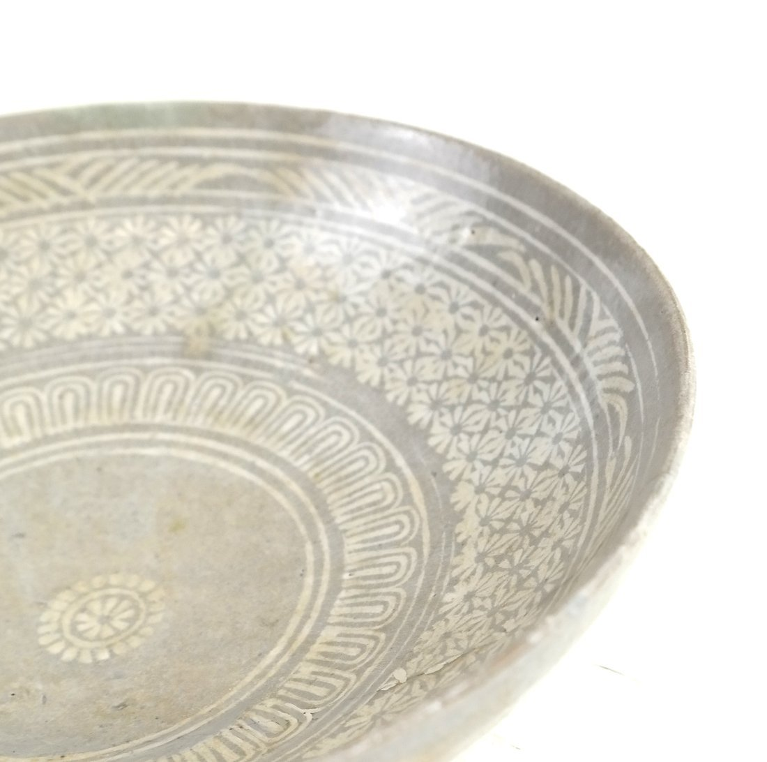 Early Chinese Pottery Bowl - 5
